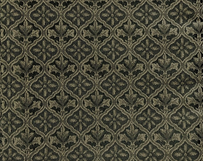 Green Upholstery Fabric - SCA Material - Cosplay - Ren Faire Yardage