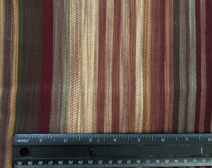 Striped Upholstery Fabric - SCA Material - Cosplay - Ren Faire Yardage
