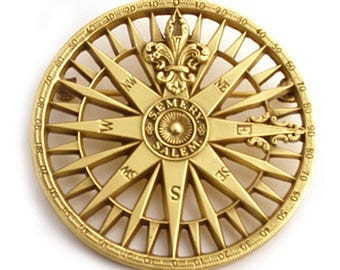 Compass Rose Pendant or Brooch - Peabody Essex Museum - 19th century