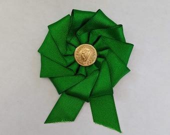 Irish Cockade - Erin Go Braugh - Society of United Irishmen - Ireland