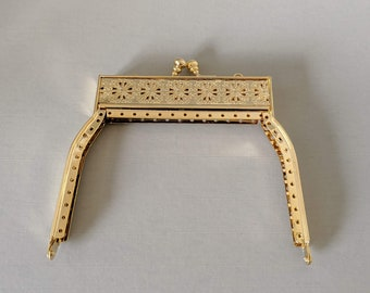 Small Filagree Metal Purse Frame - Renaissance Handbag - Victorian