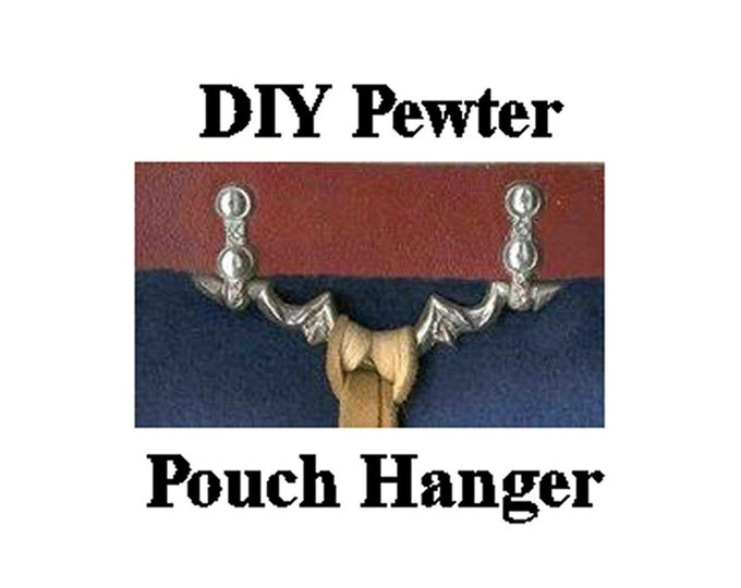 Pewter Purse Hanger - Belt Fittings