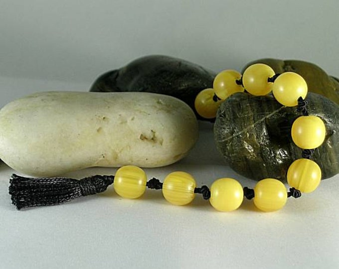 Copal Amber Paternosters - Tenner - Prayer Beads