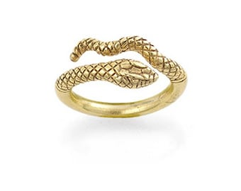 Vintage Egyptian Snake Ring - Cleopatra -  Egypt