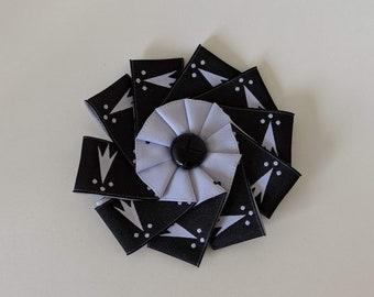 Ermine Pean Erminois Ermines Cockade - Gold Black White Heraldry SCA