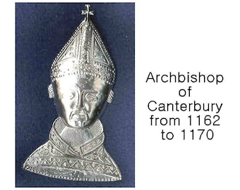 Pilgrim Badges - Rosary Accessories #4 - Hat Pins - Catholic Saints
