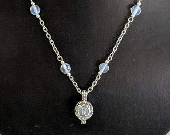 June Moonstone or Pearl Necklace - Gemini or Cancer Zodiac Birthday