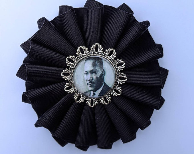 Black Mourning Cockade - Martin Luther King Jr - Black Lives Matter