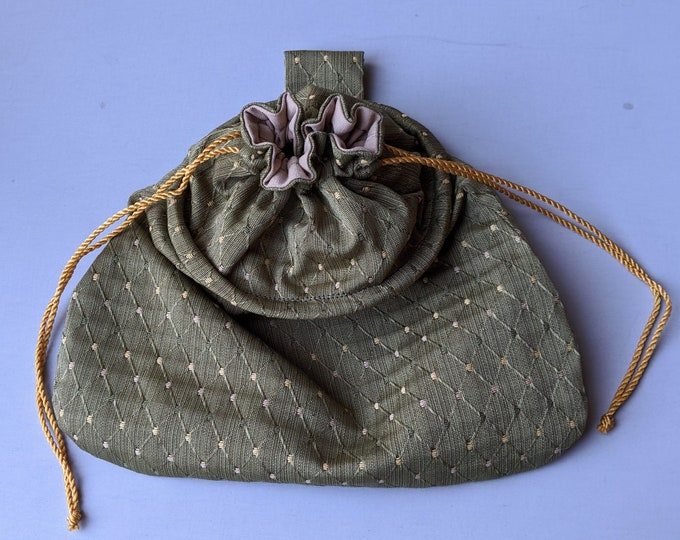 In Stock! Sage Sussex Drawstring Belt Pouch - Game Bag Renaissance