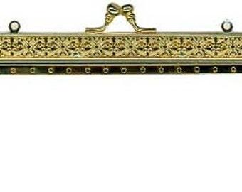 Filagree Metal Purse Frame - Renaissance Handbag - Victorian