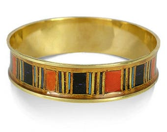 King Tut Bangle III - Egyptian Pharoah 18th Dynasty