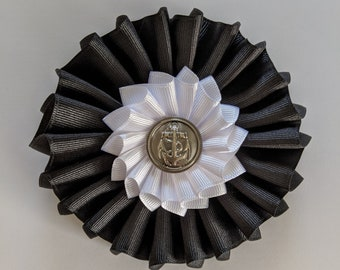 Double Military Cockade - Alliance American French Revolutionary War - Large Size