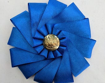SCA Pelican Cockade - Louisana Civil War Button - Secession Rosette