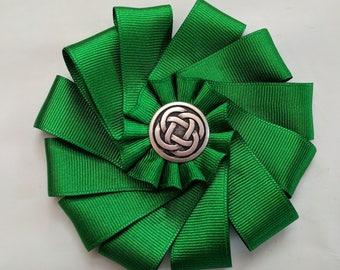 Celtic Cockade for Tricorn or Bicorne - Society of United Irishmen