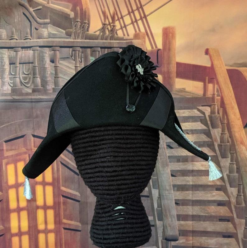 Wool Felt Bicorne Military Hat Naval Bicorn S//M//L//XL