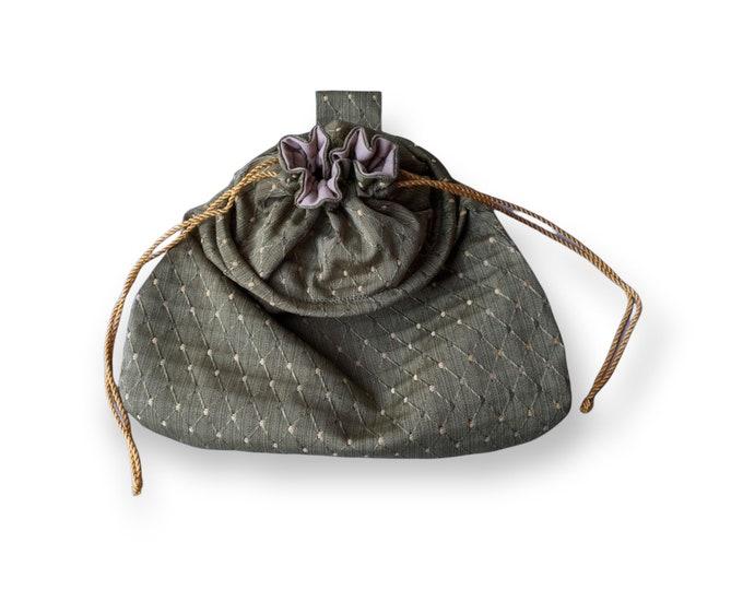 In Stock! Sage Sussex Drawstring Belt Pouch - Game Bag Renaissance