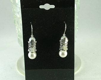 All in One Pearl Earrings - Renaissance