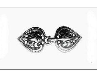 3 Romance Garment Clasps - Elizabethan Renaissance - Victorian