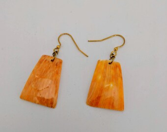 Spiny Oyster Earrings - Aztec Mayan Native American