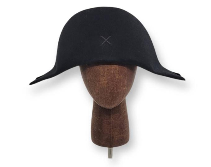 Plain Bicorne- American Cocked Hat - War of 1812 - Napoleon