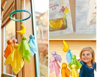 Rainbow Fairy Mobile Kit