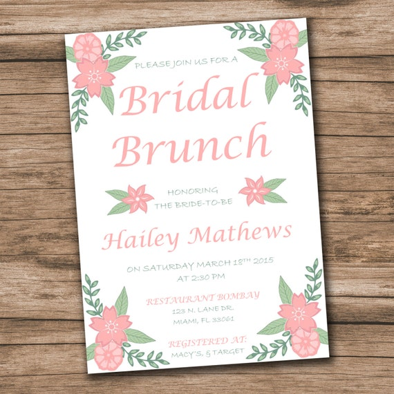Bridal shower invitation template download instantly etsy image 0 filmwisefo