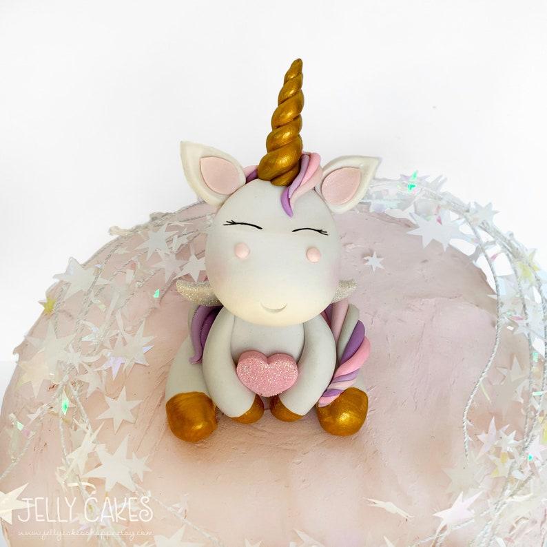 Unicorn Cake Topper Non Edible Decor Birthday