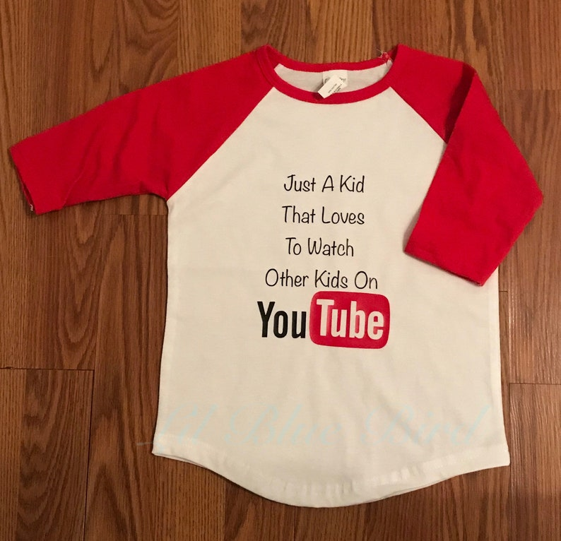 bd22bf997 Just A Kid That Loves To Watch Other Kids on YouTUBE kids | Etsy