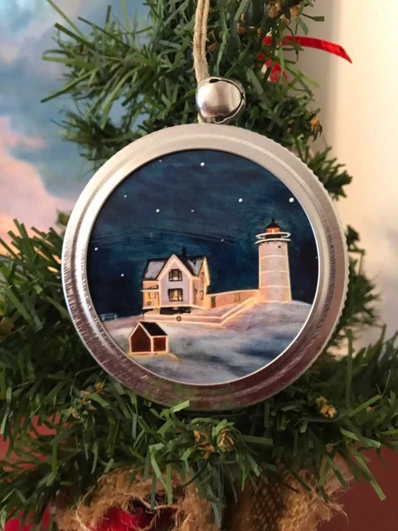 Now available: Nubble Lighthouse ornament Available October image 0