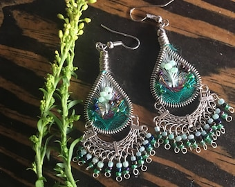 Seedbead Earrings, Gifts for Her, Earrings, Sacred Adornment