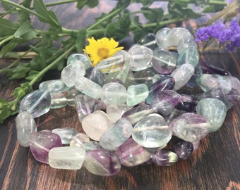 Fluorite Bracelet, Gemstone Bracelet, Gemstone Bracelet, Gifts for Her, Fluorite, Protection and Clarity.