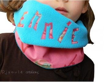 Scarf for kids - how snood - - custom order