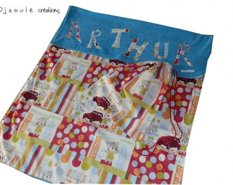fleece blanket 120 x 80 cm + bag - on order