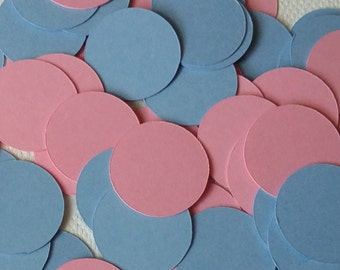 150 piece Pink and Blue Confetti, Gender Reveal Confetti, Baby Shower Confetti, Girl & Boy Confetti, Baby confetti, Gender Reveal