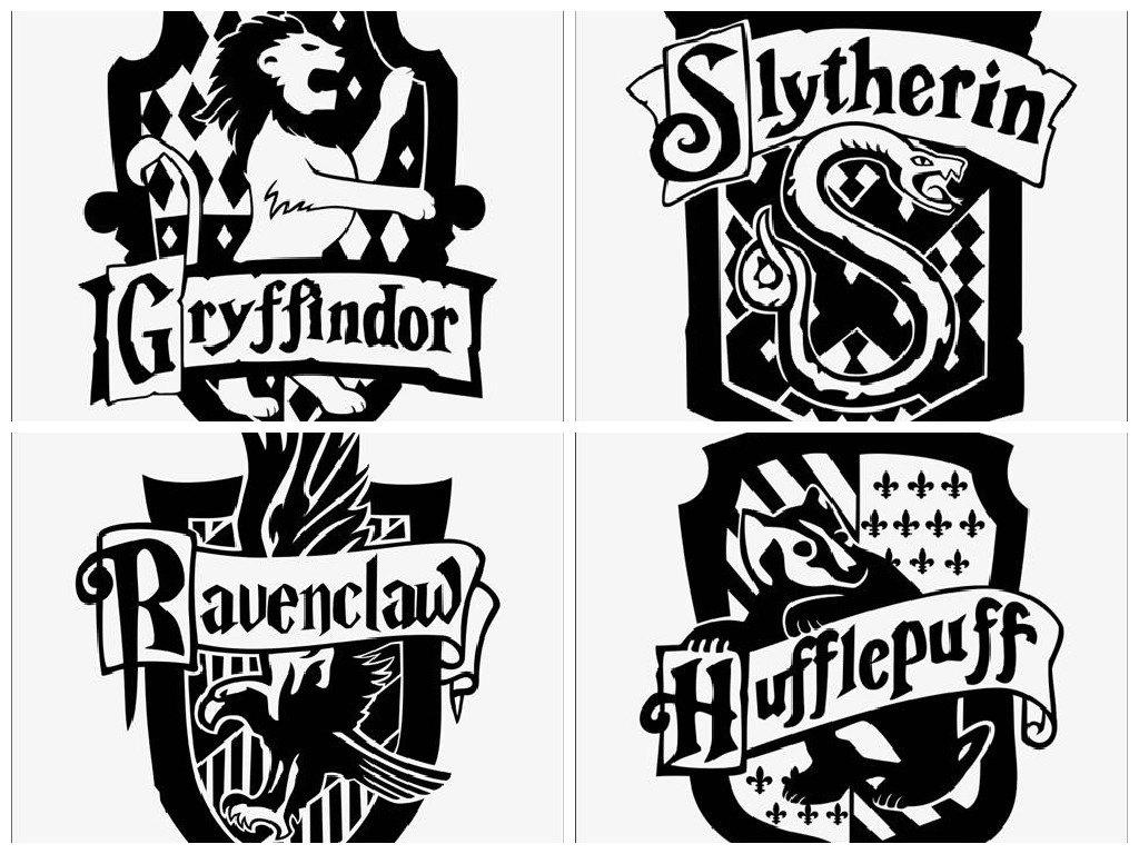Wizard School Crest Inspired Vinyl Decal