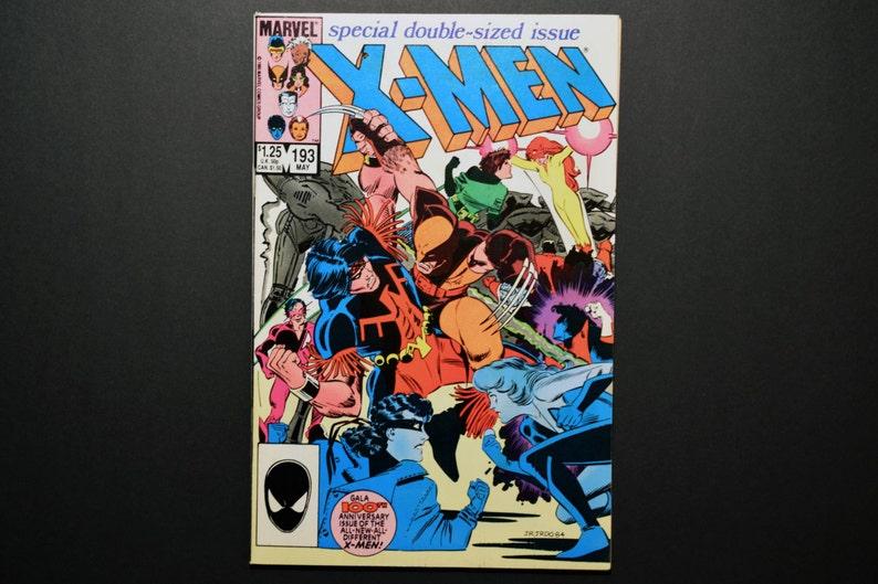 193 XMen Grade VF 1985 Uncanny Marvel Comic Collectable image 1