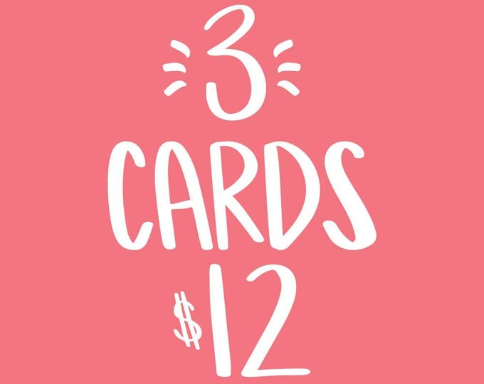 3 Card Bundle Pack