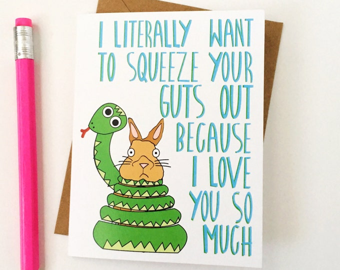 Funny Valentines Card, Funny Anniversary Card, Funny Love Card, Card for Boyfriend, Card for Husband, Funny Card, Love Card, Valentine Card