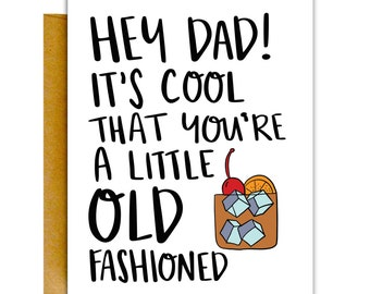 Funny Fathers Day Card, Stepdad Card, Father's Day Card, Greeting Card, Card for Dad, Funny Card, Dad Card, Father Card, Father's Day