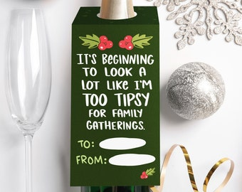 It's Beginning...Wine Tag