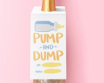 Pump and Dump Wine Tag
