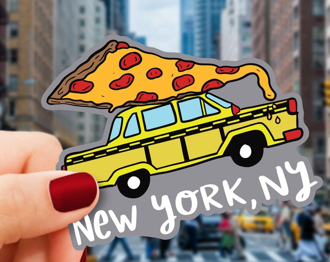New York Vinyl Sticker