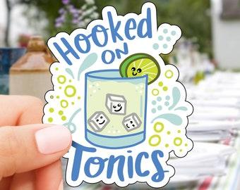 Hooked on Tonic Vinyl Sticker