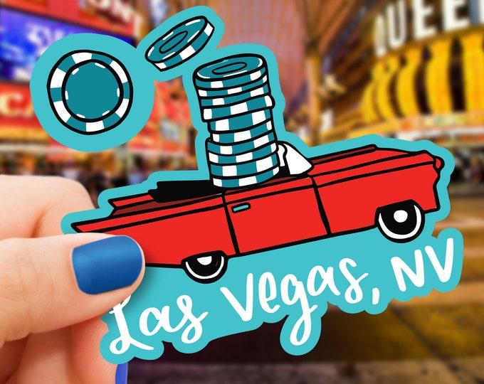 Las Vegas Vinyl Sticker