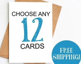 12 Card Bundle *FREE SHIPPING*