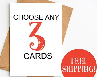 3 Card Bundle Pack