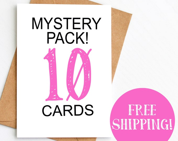 10 Card MYSTERY Pack