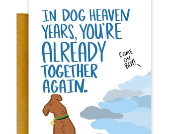 Dog Years Loss Card