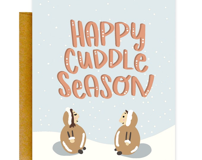 Cuddle Season Card