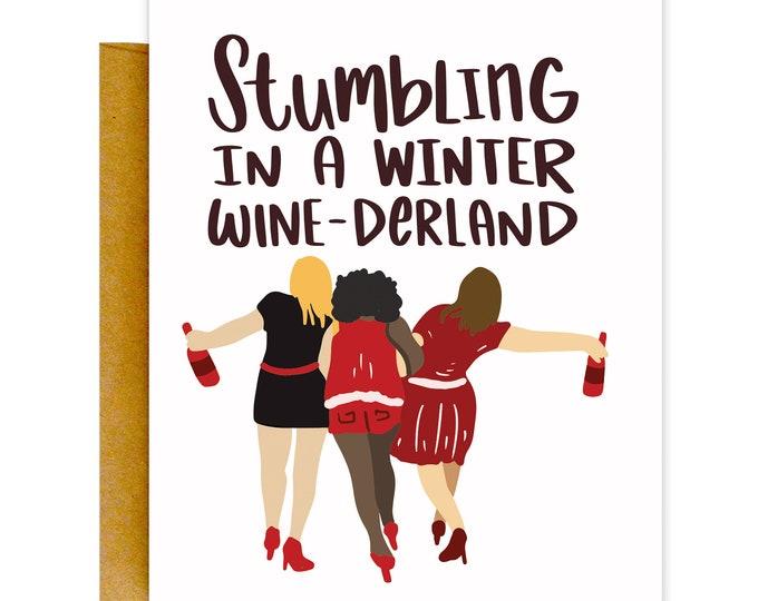 Wine-derland Card